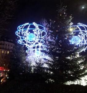 Рождество в Париже 2012