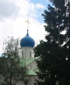 Православная церковь Успения Божьей Матери в Сент-Женевьев-де-Буа